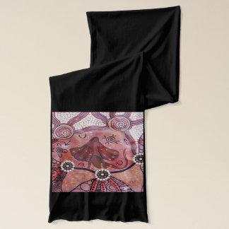 フリルの首のトカゲの原生のスカーフ スカーフ