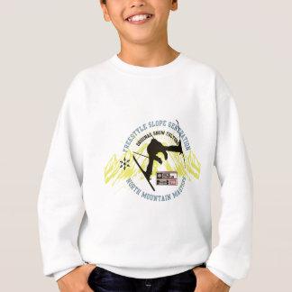 フリースタイルのスキー スウェットシャツ