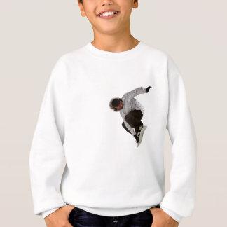 フリースタイルのスノーボーダー スウェットシャツ