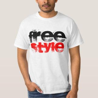 フリースタイルのレトロのBreakdancingのワイシャツ Tシャツ