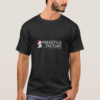 フリースタイルの工場小さいロゴT Tシャツ