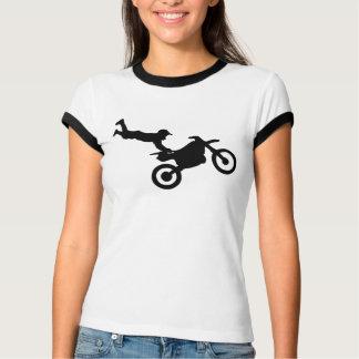フリースタイルのTシャツの女の子 Tシャツ