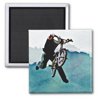 フリースタイルBMXの自転車の発育阻害 マグネット