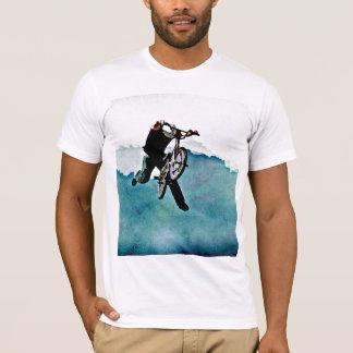 フリースタイルBMXの自転車の発育阻害 Tシャツ