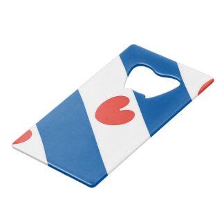 フリースラント州の旗 クレジットカード ボトルオープナー