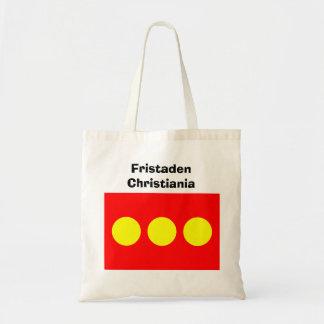 フリータウンChristianiaの旗 トートバッグ