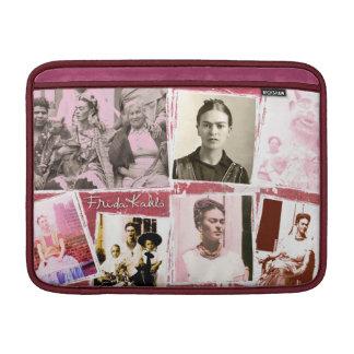 フリーダ・カーロの写真のモンタージュ MacBook スリーブ