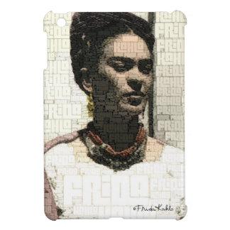 フリーダ・カーロの織物のポートレート iPad MINIケース