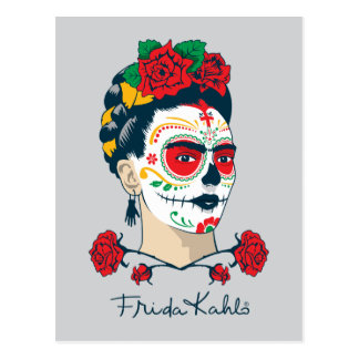 フリーダ・カーロ  El Diaa de los Muertos ポストカード