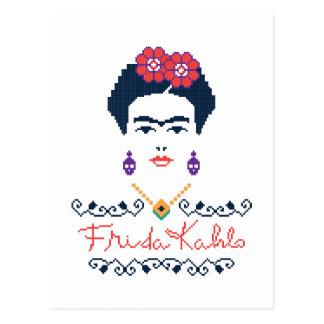 フリーダ・カーロ| Vivaメキシコ ポストカード