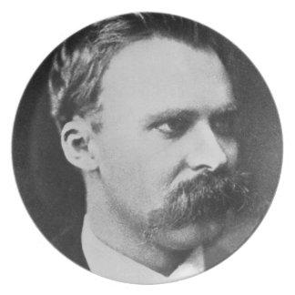 フリートリッヒウィルヘルムNietzsche (1844-1900年) 1873年(b/w プレート