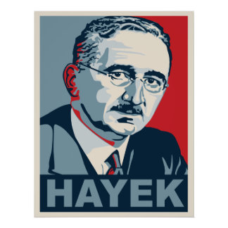 フリートリッヒHayek ポスター