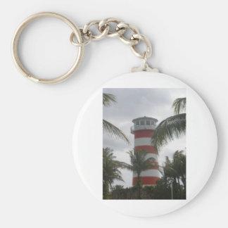 フリーポートのバハマの灯台 キーホルダー
