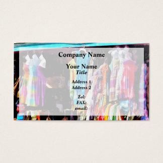 フリーポート、バハマ-港のLucayaの市場のショッピング 名刺