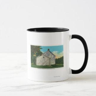 フリーマンの家の外観 マグカップ