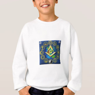 フリーメーソンすべての宗教 スウェットシャツ