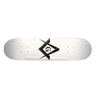 フリーメーソンのスケートボード 21.6CM スケートボードデッキ