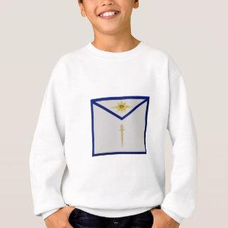 フリーメーソンのタイル職人のエプロン スウェットシャツ