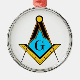 フリーメーソンのフリーメーソン会員の記号の正方形のコンパスの秘法 メタルオーナメント