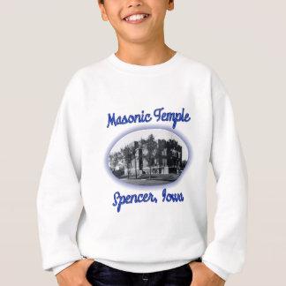 フリーメーソンの寺院のスペンサーアイオワ スウェットシャツ