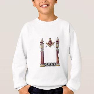 フリーメーソンの柱 スウェットシャツ