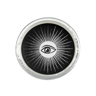 フリーメーソンの目 指輪
