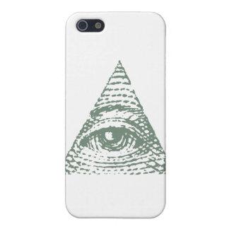 フリーメーソンの目 iPhone 5 カバー