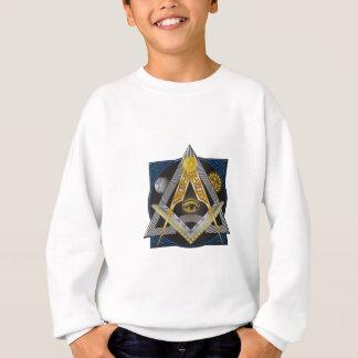 フリーメーソンの紋章 スウェットシャツ