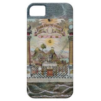 フリーメーソンの芸術 iPhone SE/5/5s ケース
