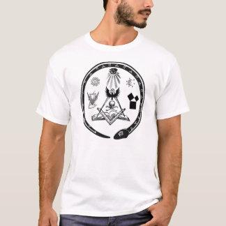 フリーメーソンの記号 Tシャツ