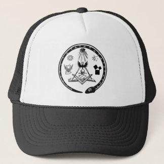 フリーメーソンの象徴性の帽子 キャップ