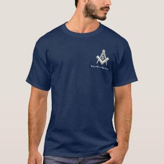 フリーメーソンの青いロッジのTシャツ Tシャツ
