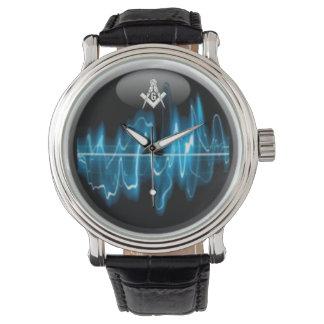 フリーメーソンの青い家SoundWave 腕時計