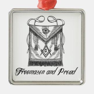 フリーメーソン会員および誇りを持ったなオーナメント メタルオーナメント