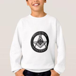 フリーメーソン会員があること誇りを持った スウェットシャツ