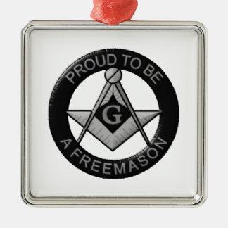 フリーメーソン会員があること誇りを持った メタルオーナメント