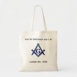 -フリーメーソン会員のトートバックで私の同業者を結合して下さい トートバッグ