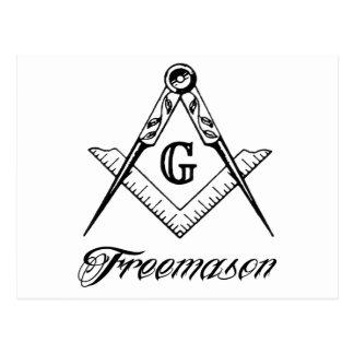 フリーメーソン会員 ポストカード