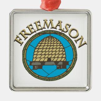 フリーメーソン会員 メタルオーナメント