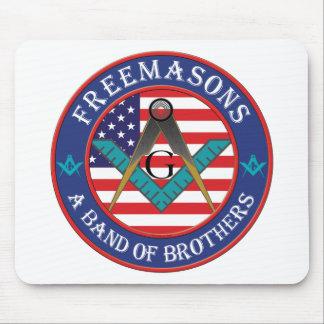 フリーメーソン会員-兄弟のバンド マウスパッド