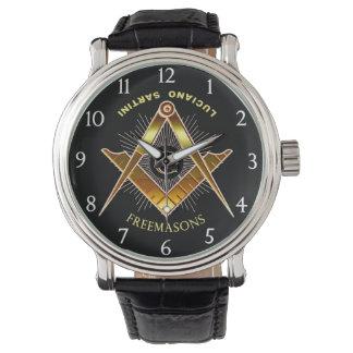 フリーメーソン会員- 01 腕時計