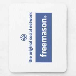 フリーメーソン、元の社会的なネットワーク。 Facebook マウスパッド