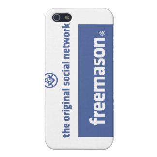 フリーメーソン、元の社会的なネットワーク。 Facebook iPhone 5 Case