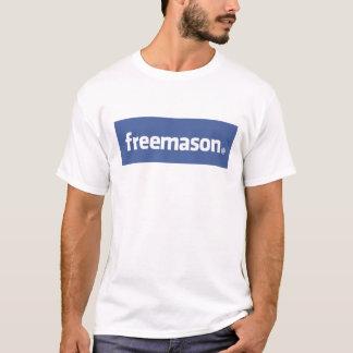 フリーメーソン、元の社会的なネットワーク。 Facebook Tシャツ