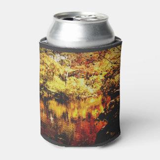 フルカラークーラーボックス-秋の流れ- 缶クーラー
