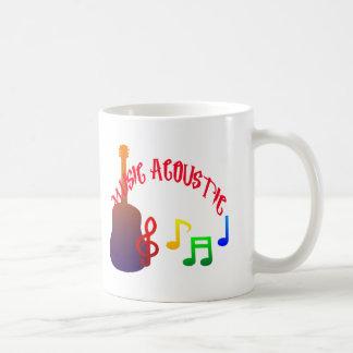 フルカラー音楽音響のデザイン コーヒーマグカップ