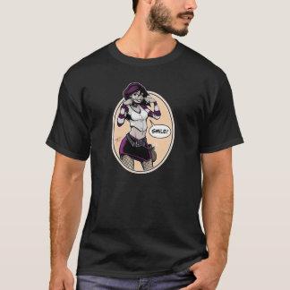フルカラーOilCanドライブ-ユリ- Tシャツ