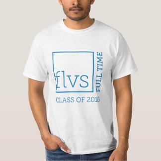 フルタイムでFLVS 2018年のユニセックスなワイシャツ Tシャツ