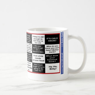 フルタームの母乳で育てるビンゴ コーヒーマグカップ