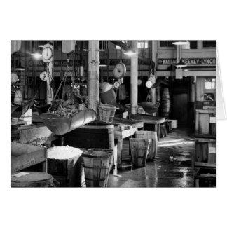 フルトンの魚市場1954年 カード
